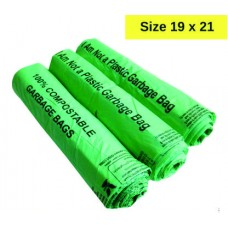 GARBAGE BAG 19 X 21 GREEN